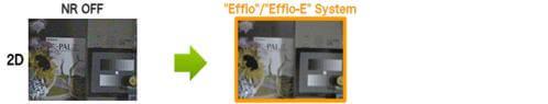 Sony Effio comparison